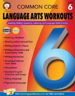Common Core Language Arts Workouts, Grade 6 (Paperback)
