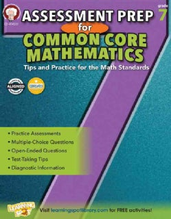 Assessment Prep for Common Core Mathematics Grade 7: Tips and Practice for the Math Standards (Paperback)