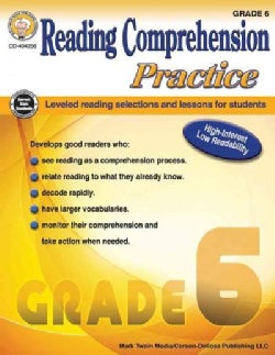 Reading Comprehension Practice, Grade 6 (Paperback)