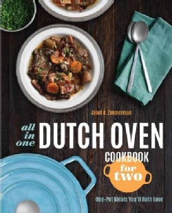 All-in-One Dutch Oven Cookbook for Two: One-Pot Meals You'll Both Love (Paperback)