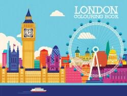 London Coloring Book (Paperback)