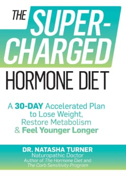 The Supercharged Hormone Diet: A 30-Day Accelerated Plan to Lose Weight, Restore Metabolism & Feel Younger Longer (Paperback)