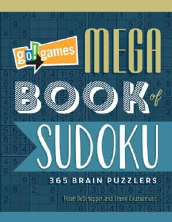 Go! Games Mega Book of Sudoku: 365 Brain Puzzlers (Paperback)
