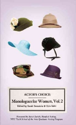 Actor's Choice: Monologues for Women (Paperback)