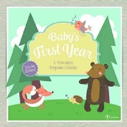 Baby's First Year Woodland Non-Dated Keepsake Calendar (Paperback)