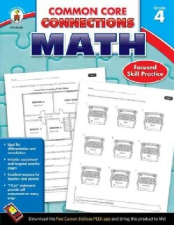 Common Core Connections Math, Grade 4: Focused Skill Practice (Paperback)