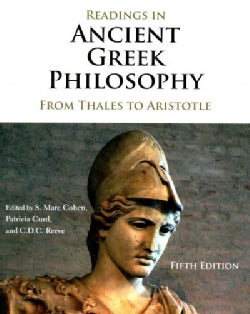 Readings in Ancient Greek Philosophy: From Thales to Aristotle (Paperback)