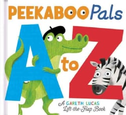 Peekaboo Pals A to Z (Board book)