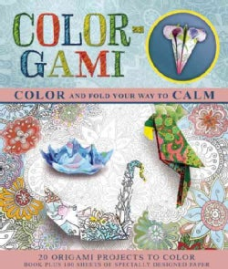 Color-Gami: Color and Fold Your Way to Calm