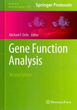 Gene Function Analysis (Hardcover)