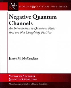 Negative Quantum Channels: An Introduction to Quantum Maps That Are Not Completely Positive (Paperback)