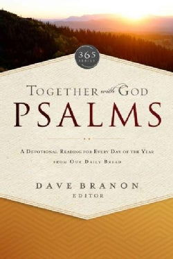 Together with God Psalms: A Devotional Reading for Every Day of the Year from Our Daily Bread (Paperback)