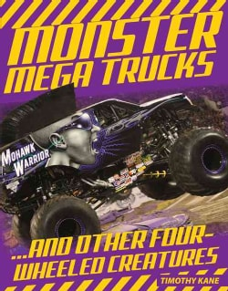 Monster Mega Trucks (Paperback)