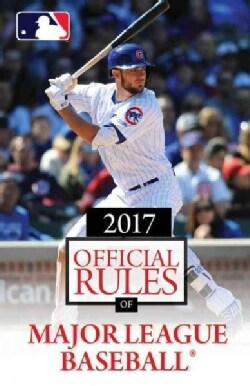 Official Rules of Major League Baseball 2017 (Paperback)