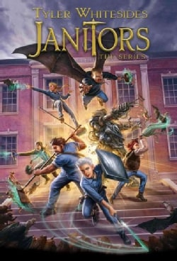Janitors: Janitors/ Secrets of New Forest Academy/ Curse of the Broomstaff/ Strike of the Sweepers/ Heroes of the... (Paperback)