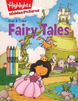 Find & Color Fairy Tales