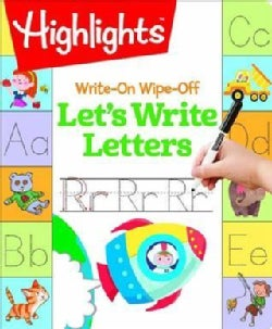 Write-on Wipe-off Let's Write Letters (Paperback)
