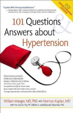101 Questions and Answers About Hypertension (Hardcover)