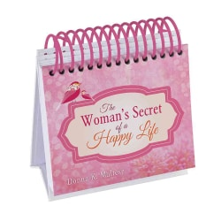 The Woman's Secret of a Happy Life Perpetual Calendar (Hardcover)