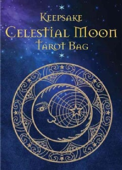 Celestial Moon Tarot Bag: Luxury Velvet Drawstring Tarot or Oracle Bag (General merchandise)