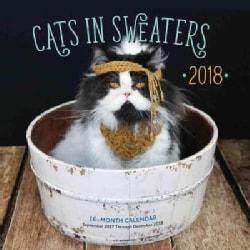 Cats in Sweaters 2018 Calendar (Calendar)