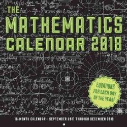 The Mathematics Calendar 2018 Calendar (Calendar)