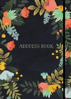 Modern Floral Small Address Book (Address book)