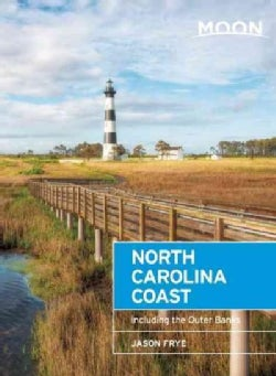 Moon North Carolina Coast: Including the Outer Banks (Paperback)