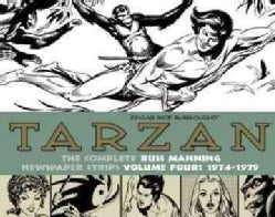 Tarzan: The Complete Russ Manning Newspaper Strips 1974-1979 (Hardcover)