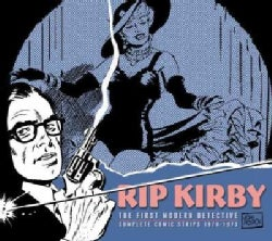 Rip Kirby 10: The First Modern Detective Complete Comic Strip 1970-1973 (Hardcover)