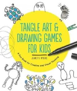 Tangle Art & Drawing Games for Kids: A Silly Book for Creative and Visual Thinking (Paperback)