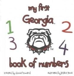 My First Georgia Book of Numbers (Board book)