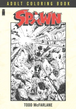 Spawn Adult Coloring Book (Paperback)