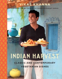 Indian Harvest: Classic and Contemporary Vegetarian Dishes (Hardcover)