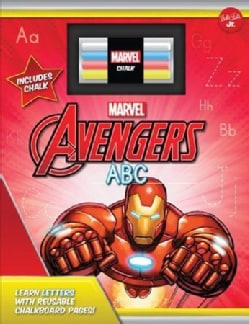 Marvel'Avengers Chalkboard ABC: Learn Letters With Reusable Chalkboard Pages!