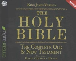 The Holy Bible: King James Version: The Complete Old & New Testament (CD-Audio)