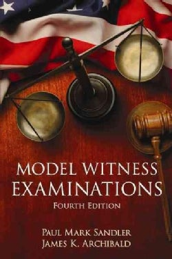 Model Witness Examinations (Paperback)
