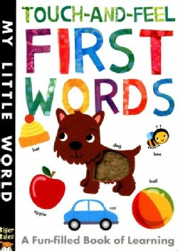 Touch-and-feel First Words (Board book)
