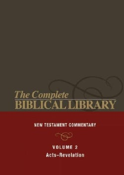 The Complete Biblical Library: The New Testament Study Bible: Acts-Revelation (Hardcover)