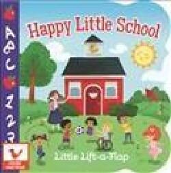 Happy Little School (Board book)