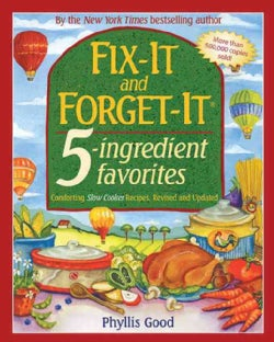 Fix-It and Forget-It 5-Ingredient Favorites: Comforting Slow-Cooker Recipes (Paperback)