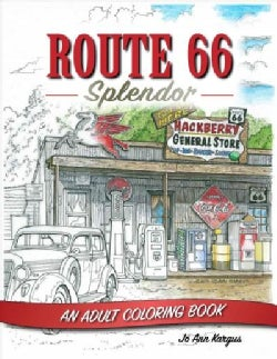 Route 66 Splendor: An Adult Coloring Book (Paperback)