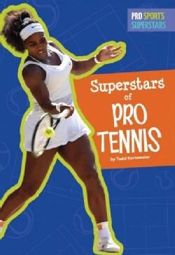 Superstars of Pro Tennis (Paperback)