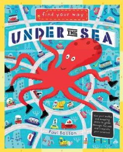 Under the Sea: Travel Through an Underwater World and Practice Your Math and Mapping Skills (Hardcover)