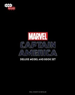 Incredibuilds Marvel Captain America: Deluxe Book and Model Set: A Guide to the Ultimate Super Soldier