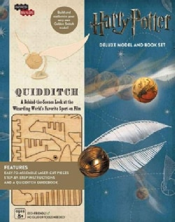 Harry Potter Quidditch: Deluxe Book and Model Set