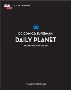 Dc Comics Superman Daily Planet Deluxe Book and Model Set