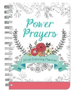 Power Prayers Coloring 2018 Planner (Calendar)