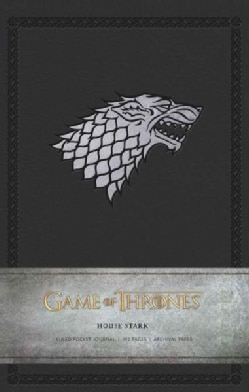 Game of Thrones House Stark Ruled Pocket Journal (Notebook / blank book)