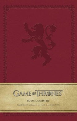 Game of Thrones House Lannister Ruled Pocket Journal (Notebook / blank book)